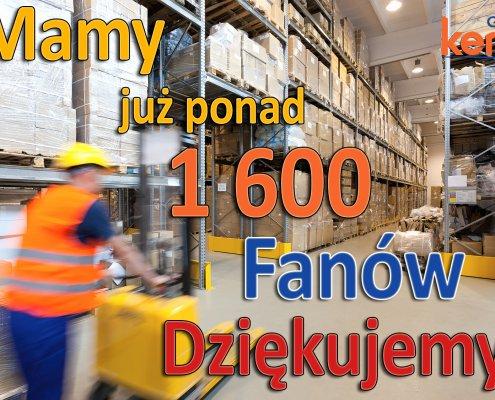 1600 FANOW FB 1 495x400 - Mamy już ponad 1 500 Fanów!