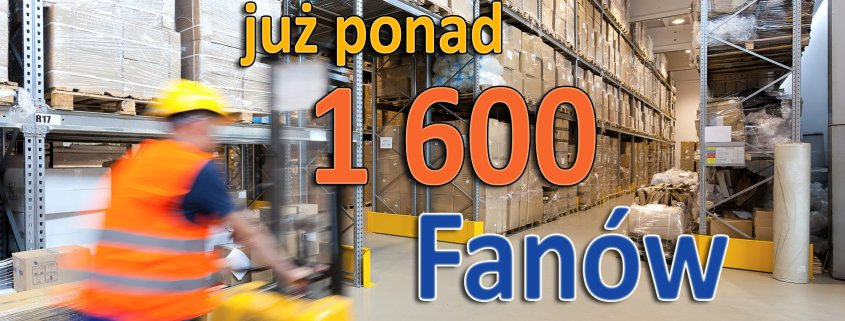 Mamy już ponad 1 600 Fanów!