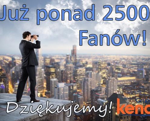 2500 FANOW FB 495x400 - Mamy już ponad 2 000 FANÓW! Dziękujemy!