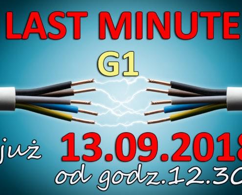 SEP LAST MINUTE 2018 495x400 - Kolejny kurs typu G1,G2 i G3 już 24.08.2018!