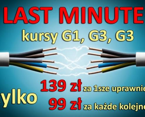SEP LAST MINUTE 12 2018 495x400 - LAST MINUTE - 139 zł lub 99 zł za kurs G1,G2 i G3 już 13.12.2018!