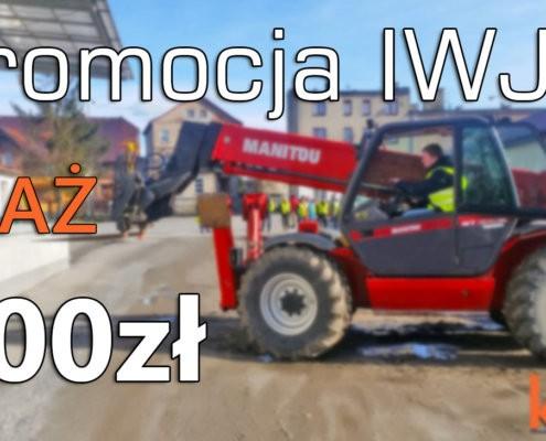 Do 12.02.2019 zapisy na KURS na WÓZKI IWJO i IIWJO z UDT! IWJO AŻ 300 zł TANIEJ!