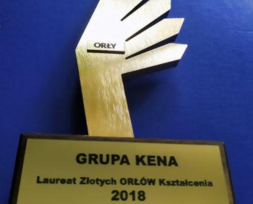 IMG 20190510 133435 orly 495x400 - Grupa KENA laureatem ZŁOTYCH Orłów Kształcenia 2018!