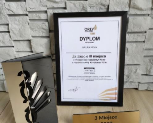 Orly 2020 4 495x400 - Grupa KENA laureatem II miejsca Orłów Kształcenia - 9,7 pkt. na 10 pkt!
