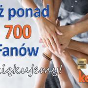 Grupa KENA ma już 2700 Fanów
