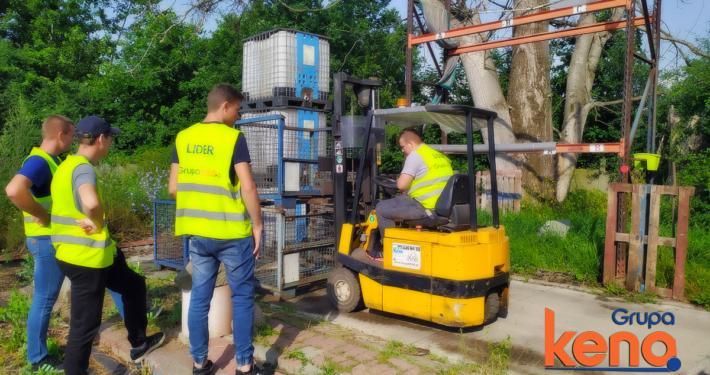 Kursy zawodowe na wózki widłowe maj 2021 - Grupa KENA